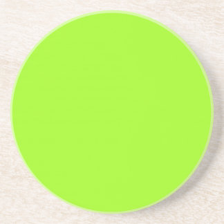 Solid Series---Bright Green coaster