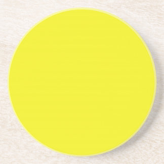 Solid Series---Bright Yellow coaster