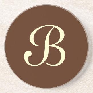 Solid Series---Brown coaster