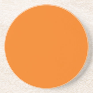 Solid Series---Orange coaster