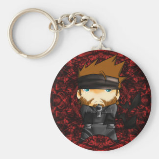 Solid snake 007 key ring
