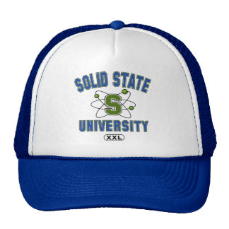 Solid State University Trucker Hat