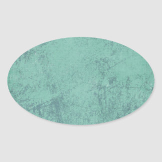 solid_teal CONCRETE SOLID TEAL TEXTURE TEMPLATE BA Oval Sticker