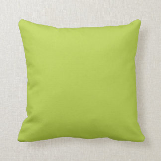 Solid Tender Shoots Green Pillow