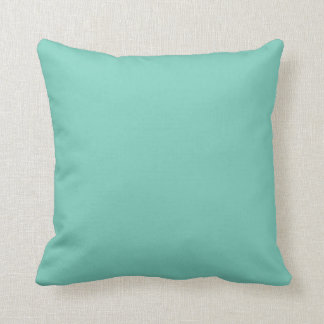 Solid Turquoise Pillow