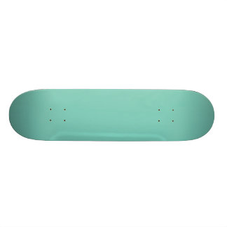 Solid Turquoise Skate Board Decks