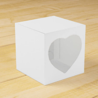 Solid White Wedding Favour Boxes