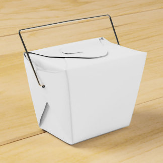 Solid White Wedding Favour Box