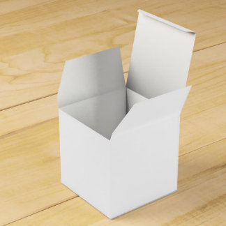 Solid White Favour Box