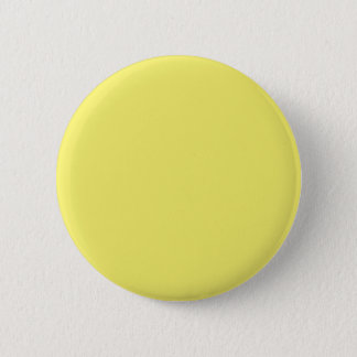 Solid Yellow Background Color Template 6 Cm Round Badge