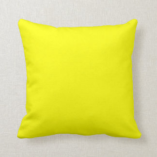 solid yellow  pillow