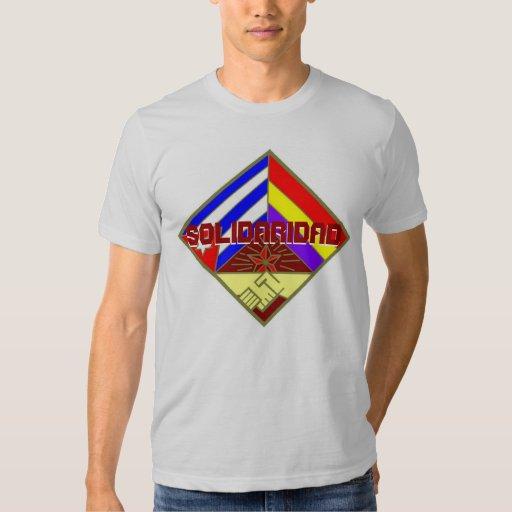 SOLIDARIDAD CON CUBA TSHIRTS