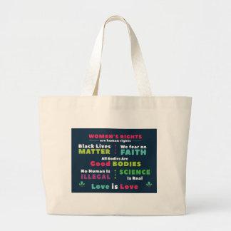 Solidarity Large Tote Bag