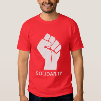 Solidarity With Wisconsin's Unions Shirts
