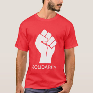 Solidarity With Wisconsin's Unions T-Shirt