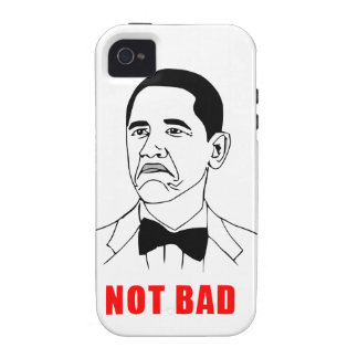 solidchainwear not bad Obama Case-Mate iPhone 4 Cases