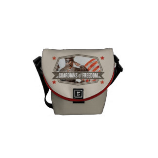 Solider-Guardian of Freedom Courier Bags