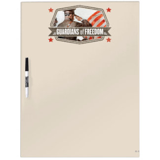 Solider-Guardian of Freedom Dry Erase Board