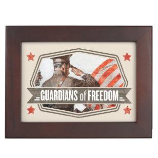 Solider-Guardian of Freedom Keepsake Box