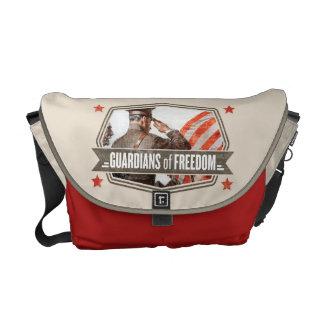 Solider-Guardian of Freedom Messenger Bag