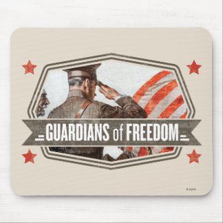 Solider-Guardian of Freedom Mouse Mat