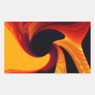 solidic fire.jpg rectangular sticker