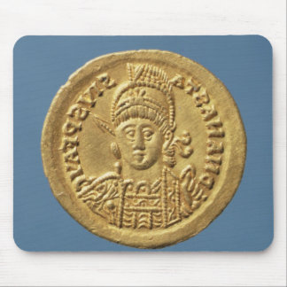 Solidus  minted by Theodoric I Mouse Mat