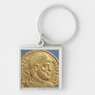 Solidus  of Julian the Apostate  draped Key Ring