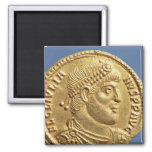 Solidus  of Julian the Apostate  draped Magnet