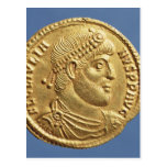 Solidus  of Julian the Apostate  draped Postcard
