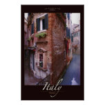 Soliloquy, Venice, Italy Poster