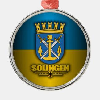 Solingen Silver-Colored Round Decoration
