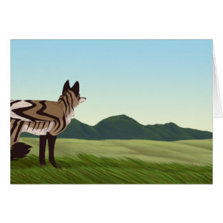 Solitaire Greeting Card