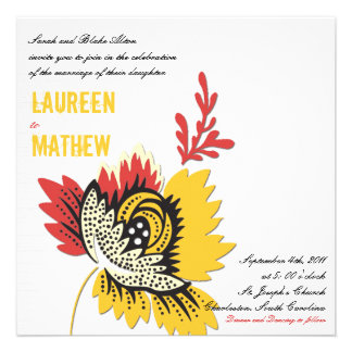 Solitaire - Wedding invites