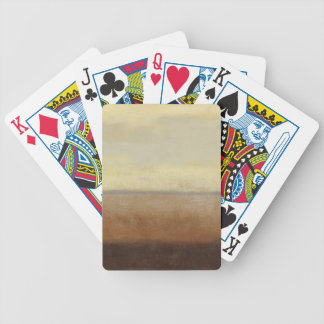 Solitary Desert Landscape by Norman Wyatt Bicycle Playing Cards