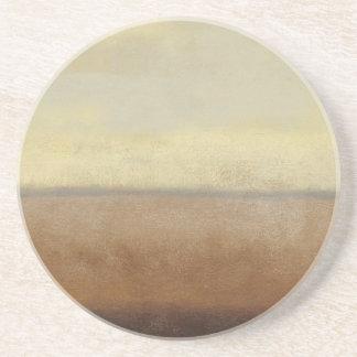 Solitary Desert Landscape by Norman Wyatt Coaster