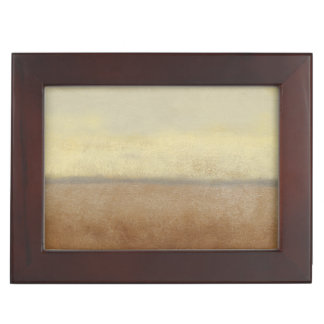 Solitary Desert Landscape by Norman Wyatt Keepsake Box