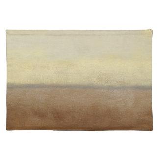 Solitary Desert Landscape by Norman Wyatt Placemat