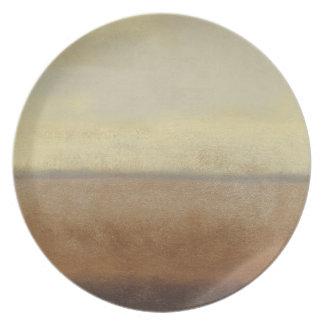 Solitary Desert Landscape by Norman Wyatt Plate