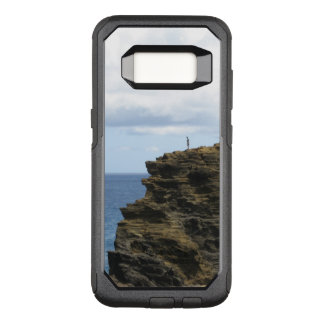 Solitary Figure on a Cliff OtterBox Commuter Samsung Galaxy S8 Case