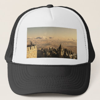 Solitary Knight Guarding the Battlements Trucker Hat