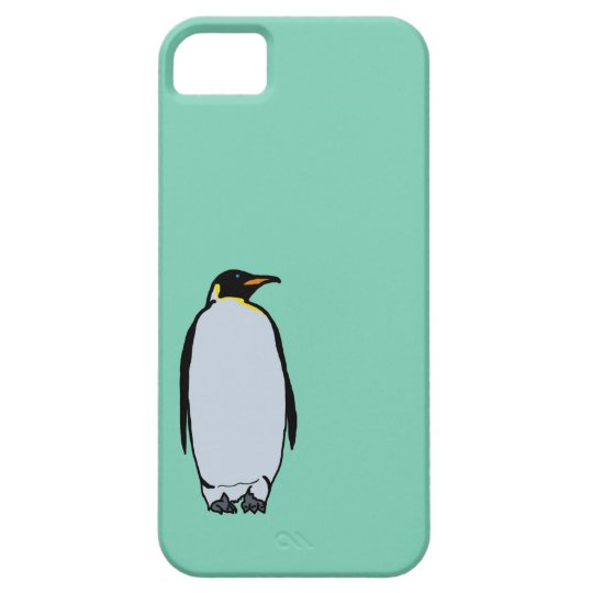 Solitary Penguin iPhone 5 Case