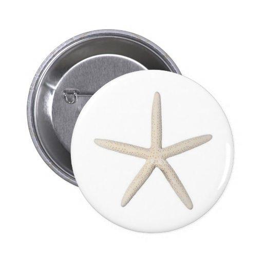 Solitary Starfish Pin