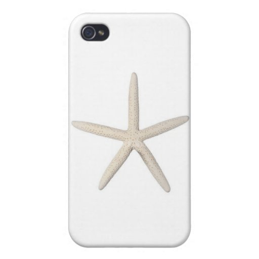 Solitary Starfish iPhone 4 Cover