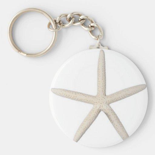 Solitary Starfish Key Chains