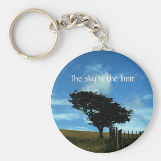 Solitary Tree - The sky is the limit | keychain
