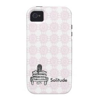 Solitude Vibe iPhone 4 Cover