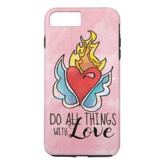 Solma's Heart is on Fire iPhone 8 Plus/7 Plus Case