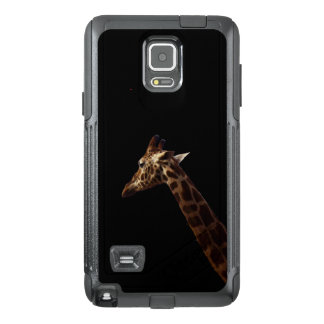 Solo Giraffe On Black, OtterBox Samsung Note 4 Case
