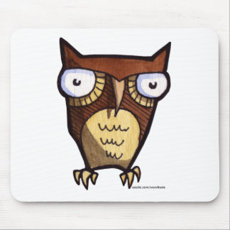 solo owl mousepad